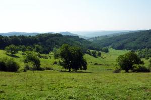 Hills of Transylvania Romania