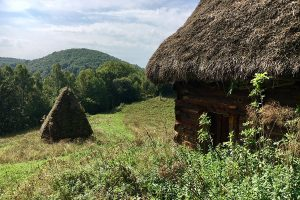Romanian wooden cabins